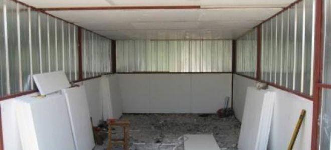 Современные методы утепления крыши гаража
