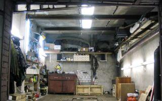 Как провести освещение в гараже самому?