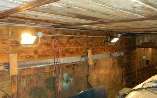 Электрификация гаража — как правильно провести электричество?