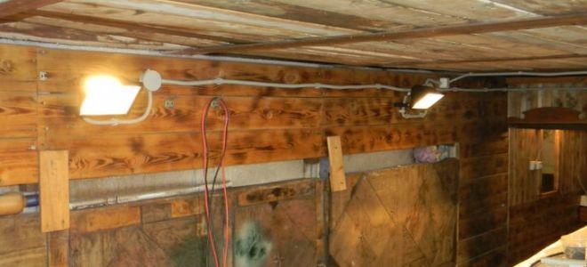 Электропроводка в гараже своими руками - как правильно провести?
