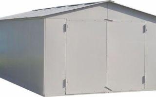 Способы устройства металлического гаража
