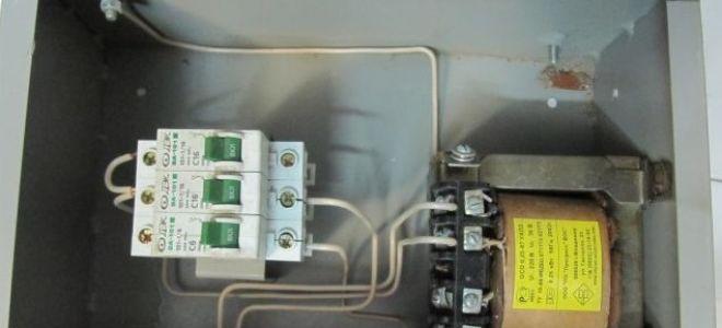 Электрощиток для гаража - как сделать самому?
