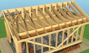 Деревянная крыша для гаража — преимущества и недостатки