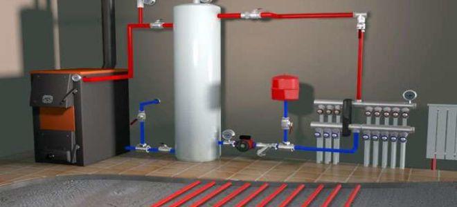 Экономное водяное отопление в гараже своими руками - как правильно сделать?