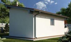 Строим односкатную крышу для гаража