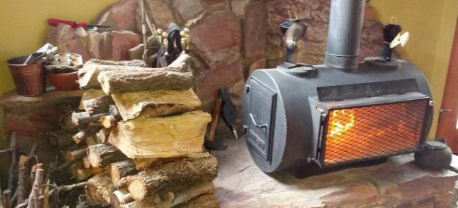 Дровяная печь для гаража своими руками с фото и видео - как построить?