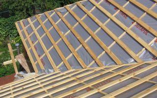Двухскатная крыша — как построить самому?