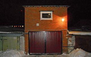 Планировка двухэтажного гаража и строительство