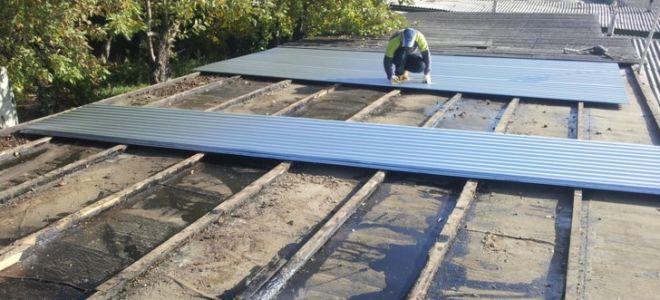 Как правильно отремонтировать крышу гаража?