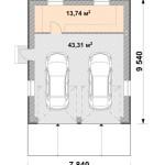 Проектирование гаража - 1 этап