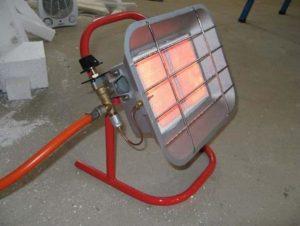 Отопление при помощи обогревателей
